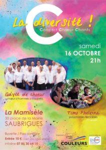 Concert : C la Diversité 16/10/21